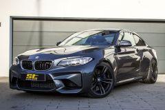 Tuning: ST suspension Federsatz und Spurverbreiterungen für BMW M2