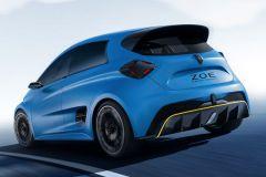 E-Mobil: Batterie-betriebene Rennwagenstudie ZOE e-Sport Concept von Renault
