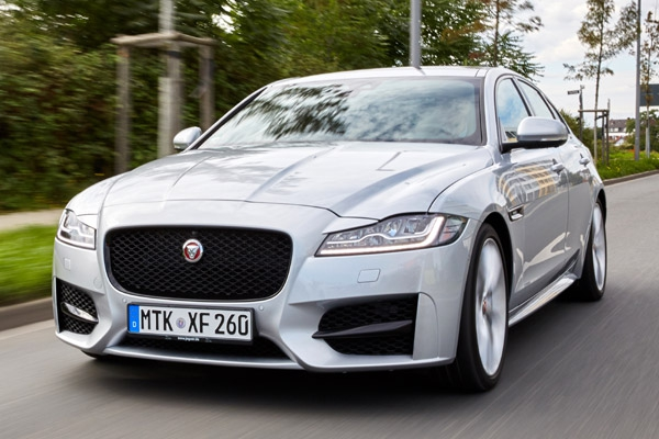 Fahrbericht: Jaguar XF 2.0d mit 180 PS Ingenium Diesel und Acht-Gang-Automatik