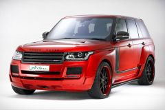 Tuning: Range Rover Arden Spirit Special Edition in Tobago Red