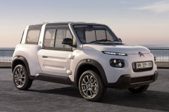 E-Mobil: Citroen Elektro Cabriolet E-Mehari mit Hardtop und Seitenscheiben