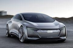 E-Mobil: Audi Design-Vision Aicon ermöglicht bis zu 800 Kilometer mit einer Batterieladung