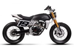 Motorrad: Fantic Zweitmarke Cabellero mit 125er Flat Track und Scrambler Modellen