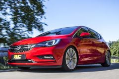 Tuning: ST Suspenson X Gewindefahrwerk für Opel Astra (K)
