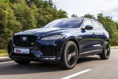 Tuning: KW Suspensions Gewindefedern legen den Jaguar F-Pace bis zu 30 mm tiefer