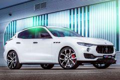 Tuning: G&S Karosseriekit und 22 Zöller für Maserati Levante