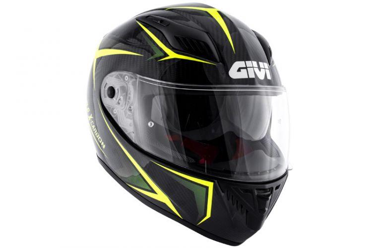 Motorrad: Givi 40.5 Integralhelm in Carbon und Composit Fiber