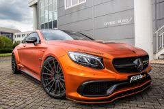 Tuning: AMG S 63 Coupé in Orange-Chrom-Matt von Fostla