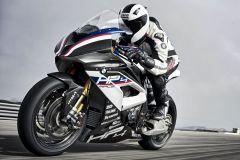 Motorrad: BMW HP4 RACE Rennmaschine mit Carbonrahmen