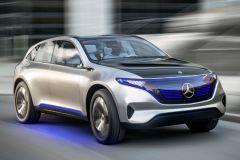 E-Mobil: Mercedes SUV-Studie Generation EQ steht für Elektromobilität der Zukunft