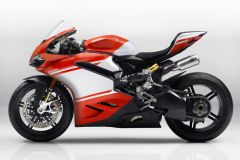 Motorrad: Ducati 1299 Superleggera mit 215 PS und Kohlefaser-Verbundstoff Rahmen