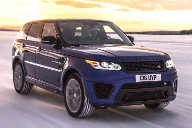 News: Range Rover Sport SVR auf jedem Untergrund maximal schnell