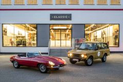 Pressemeldung Jaguar Land Rover - Europäisches Classic Centre in Essen eröffnet