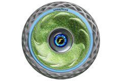 Reifen & Felgen: Goodyear Konzeptreifen Oxygene sorgt mit echtem Moos für saubere Luft