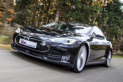 Tuning: Adaptives DDC ECU Gewindefahrwerk von KW Suspensions für Tesla Model S