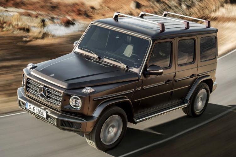 News: Geländewagen-Ikone Mercedes G-Klasse in neuem Gewand