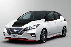 E-Mobil: Nissan stellt Nismo Concept Sportversion des E-Modells Leaf vor