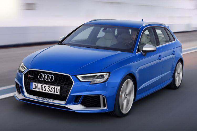 News: Audi RS3 Sportback mit geschärfter Optik und neuem 5-Zylinder-Turbo mit 400 PS