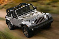 Pressemeldung Jeep - Sonderedition Jeep Wrangler Golden Eagle