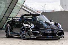 Tuning: Techart GTstreet R Cabrio auf Basis des Porsche 911 Turbo Cabriolet