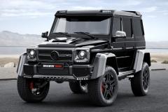Tuning: Brabus G 500 4x4 - Zusätzliche Power und feines Interieur für den Monster-SUV