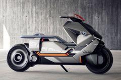 Motorrad: Emissionsfreier BMW Motorrad-Roller Concept Link der Zukunft