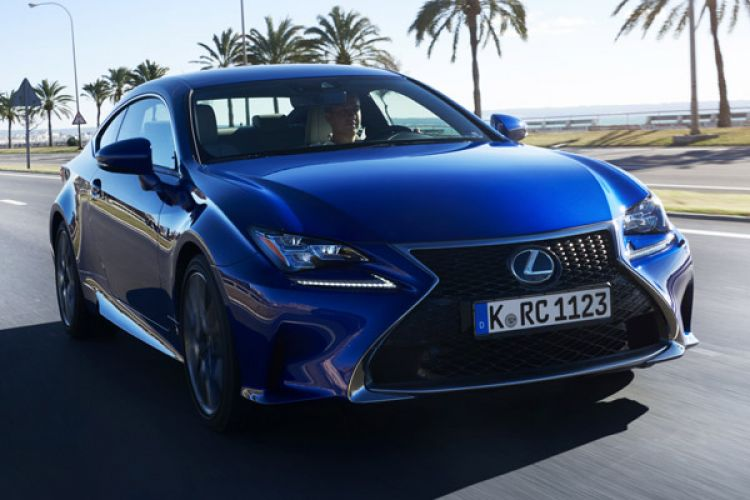 News: Lexus RC Sport-Coupé mit Hybridantrieb