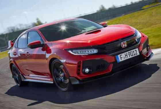 News: Honda Civic Type R mit 320 PS und mächtigem Spoilerwerk