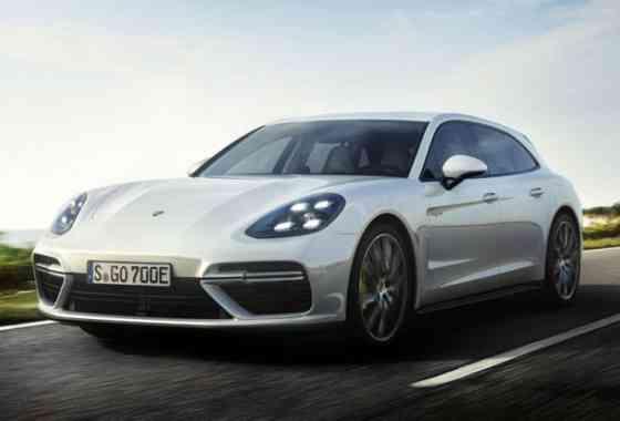 News: Topmodell Porsche Panamera Turbo S E-Hybrid Sport Turismo mit Elektromotor