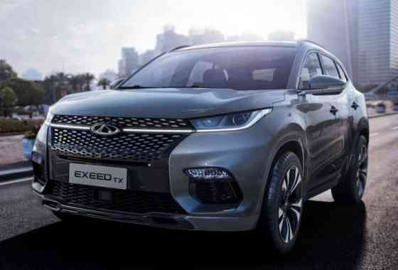 News: China kommt mit Chery EXEED TX Crossover-Modell nach Europa