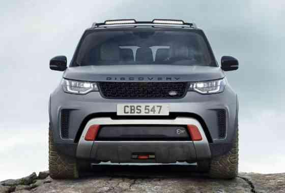 News: 525 PS starker Land Rover Discovery SVX für jedes Gelände