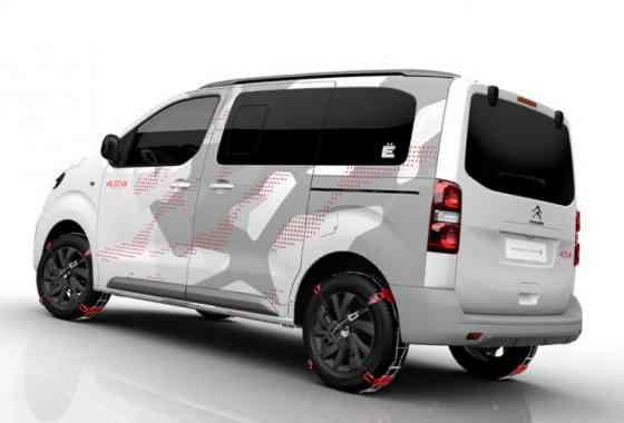 News: Citroen Lifestyle SpaceTourer 4X4 Ë Concept Car für jeden Einsatzzweck