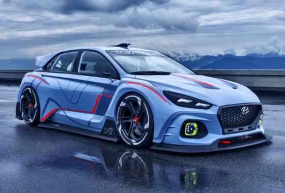 News: Hyundai RN30 Konzeptfahrzeug repräsentiert die sportliche Seite der Marke für die Zukunft