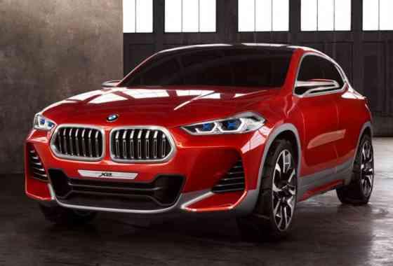 News: BMW zeigt mit dem Concept X2 eine neue Fahrzeuggeneration im Kompaktsegment