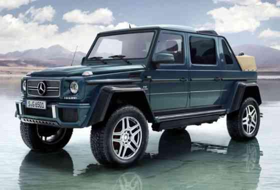 News: Limitierter Luxus-Offroader G 650 Landaulet von Mercedes-Maybach