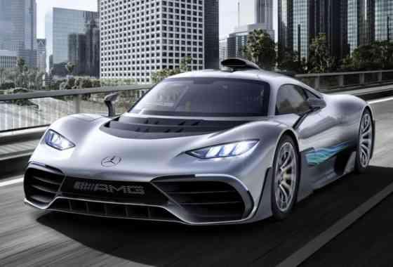 News: Mercedes-AMG Project ONE bringt Formel 1-Hybrid-Technologie auf die Straße