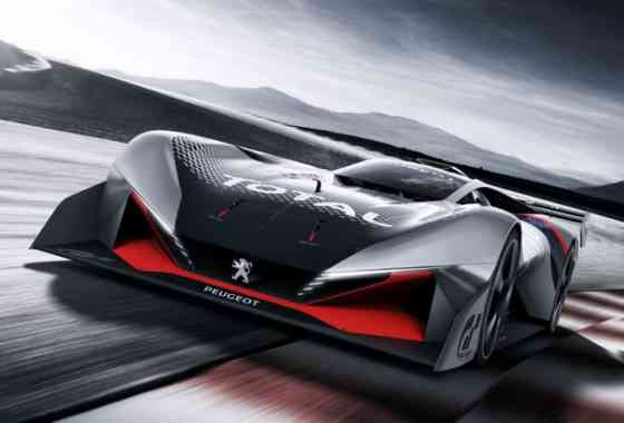 News: Peugeot L750 R HYbrid Vision Gran Turismo Rennwagen für die Spielekonsole