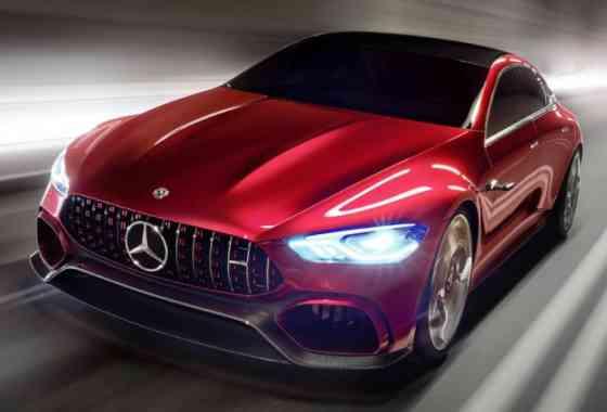 E-Mobil: Mercedes-AMG GT Concept mit Hybrid-Powerpack aus der Formel 1