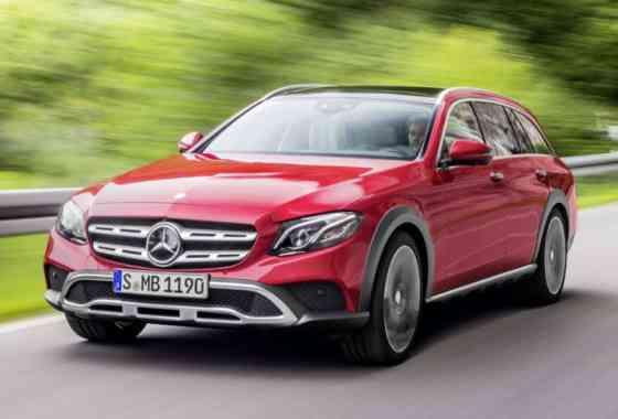 News: Mercedes T-Modell Kombi mit Allradantrieb und SUV-Optik