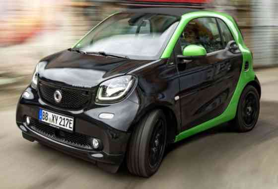 E-Mobil: smart electric drive Modele bieten emissionsfreies Fahren