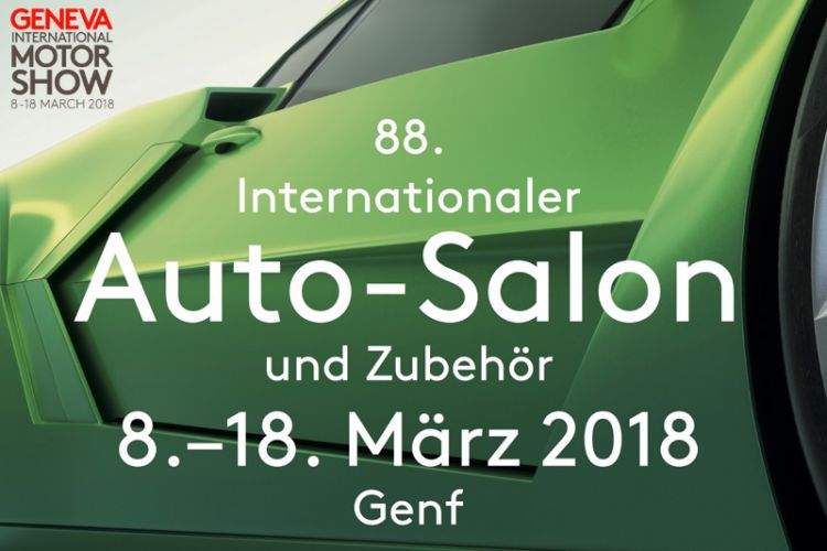 News: 88. Genfer Automobil Salon vom 08. - 18. März 2018