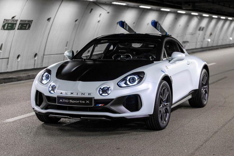 News: Alpine A110 SportsX Show Car inspiriert von den Rallyeversionen des A110