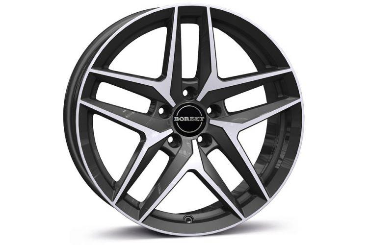 Reifen & Felgen: Borbet Z ECE-Rad für Fahrzeuge mit hoher Radlast