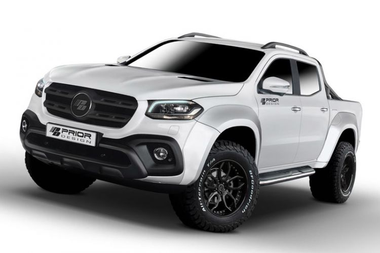 Tuning: Prior-Design Widebody-Kits für Mercedes X-Klasse Pick-up