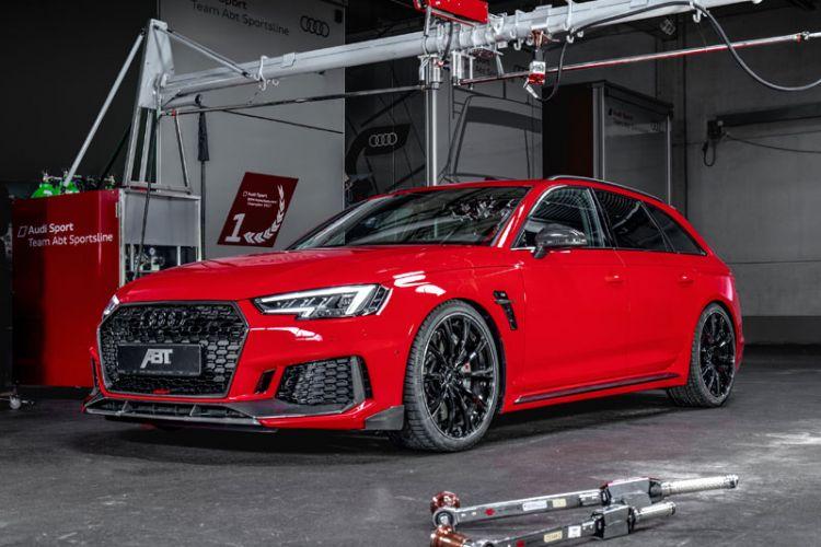 Tuning: Limitiertes Komplettfahrzeug ABT RS4+ Avant