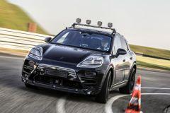 Pressemeldung Porsche - Vollelektrischer Macan zur Erprobung auf der Straße