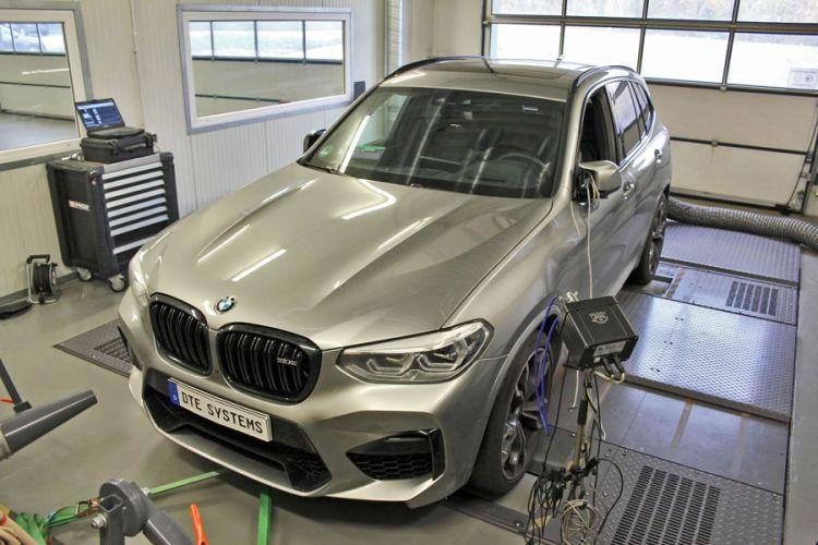 Tuning: 634 PS für den BMW X3 M mit der Performance-Box von DTE Systems