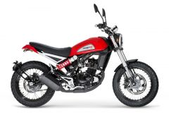 Motorrad: Neues Scrambler Leichtkraftrad Falcone 125 von Mash