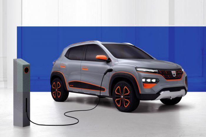 E-Mobil: Dacia zeigt mit dem Spring Electric Concept zukünftiges Elektrofahrzeug