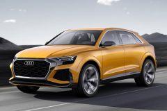 E-Mobil: Zukünftiges Oberklasse-SUV Audi Q8 sport concept mit Mildhybrid-System